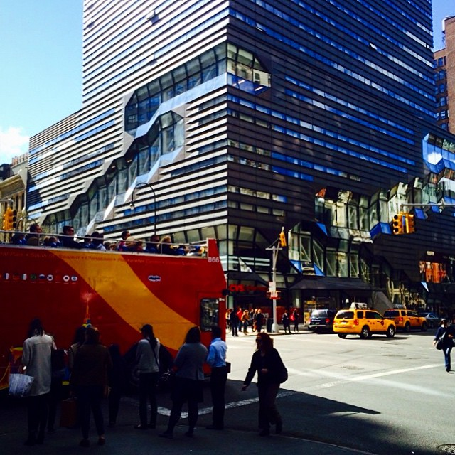 5th ave and 14th st #thenewschool